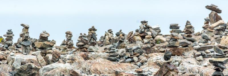 Inuksuks που απασχολεί τον Ατλαντικό Ωκεανό στο Νιού Χάμσαιρ στοκ εικόνες με δικαίωμα ελεύθερης χρήσης