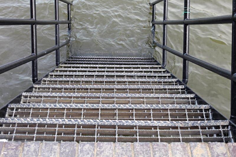 Inundação da água foto de stock