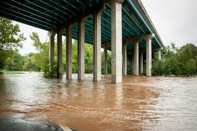 Inundação da tempestade imagem de stock royalty free
