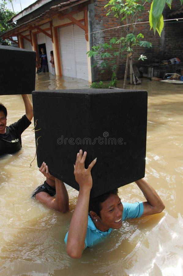 Inundação de solo fotos de stock