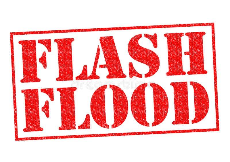 Inundação repentina ilustração stock
