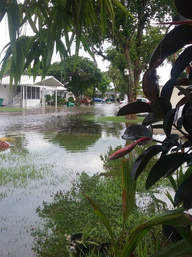 Inundación imagen de archivo