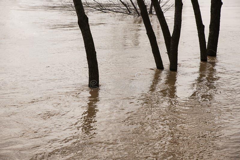 Inundación, desastre natural imagen de archivo libre de regalías