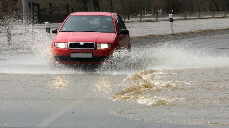 Inundaciones imagenes de archivo