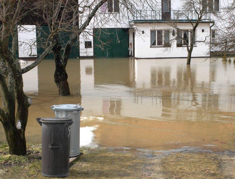 Inundaciones imagen de archivo libre de regalías