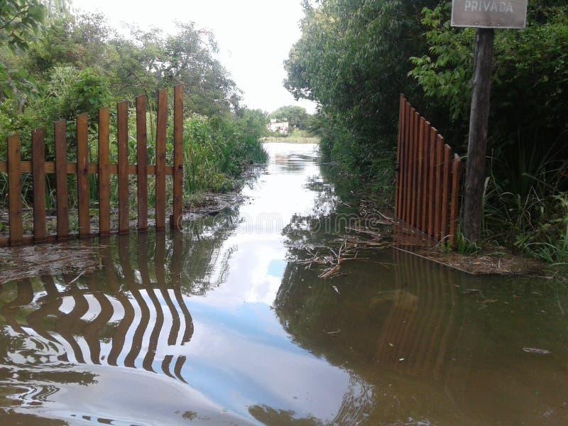 inundation zdjęcia stock