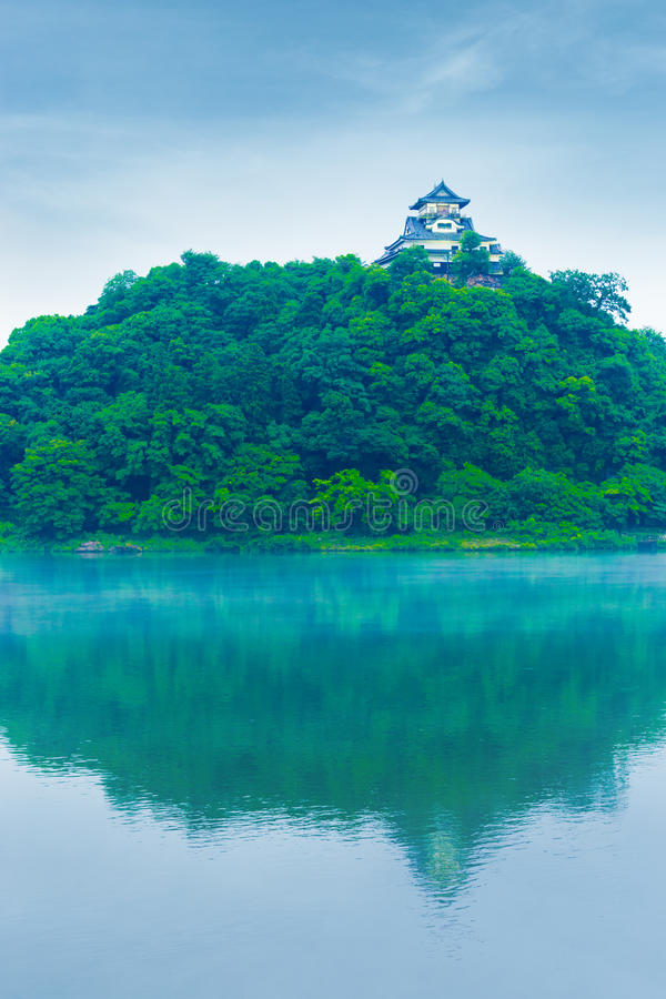 Free Inuyama Castle Reflected River Blue Sky Day V Royalty Free Stock Photos - 79282888
