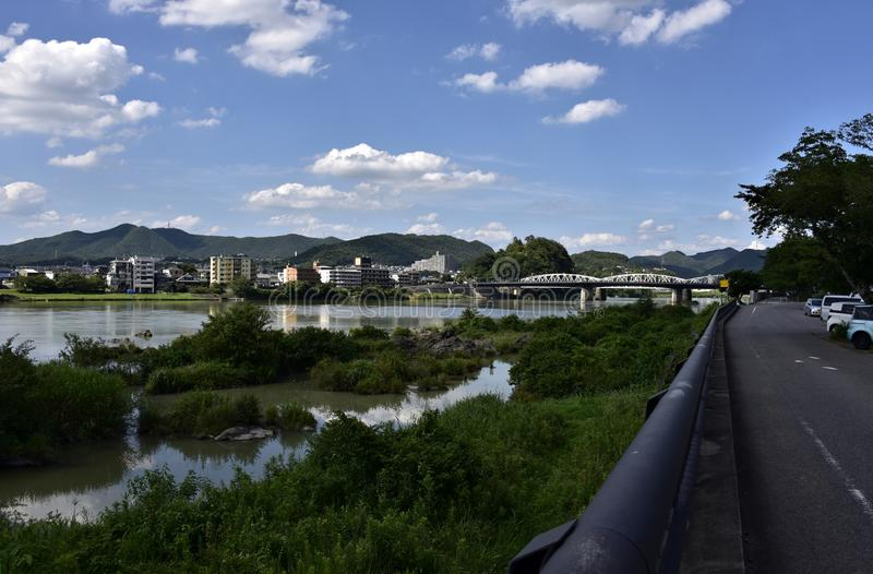 Inuyama-Shi royalty-vrije stock afbeelding