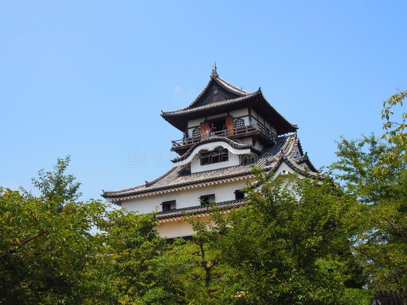 Inuyamakasteel in Aichi, Japan stock afbeelding