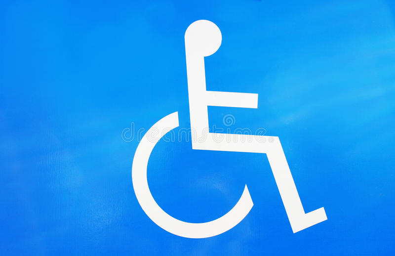Invalid spot for car and motorcycle royalty free stock photography