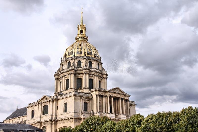 巴黎- Invalides 图库摄影