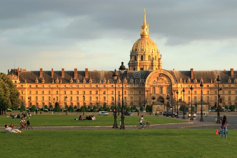 Invalides París imagen de archivo libre de regalías