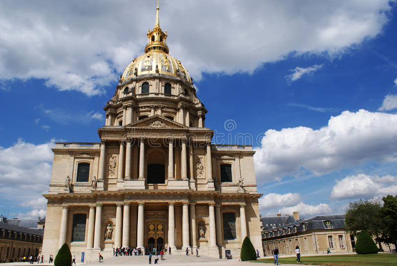 Download Invalides In Paris Royalty Free Stock Photography - Image: 24829887