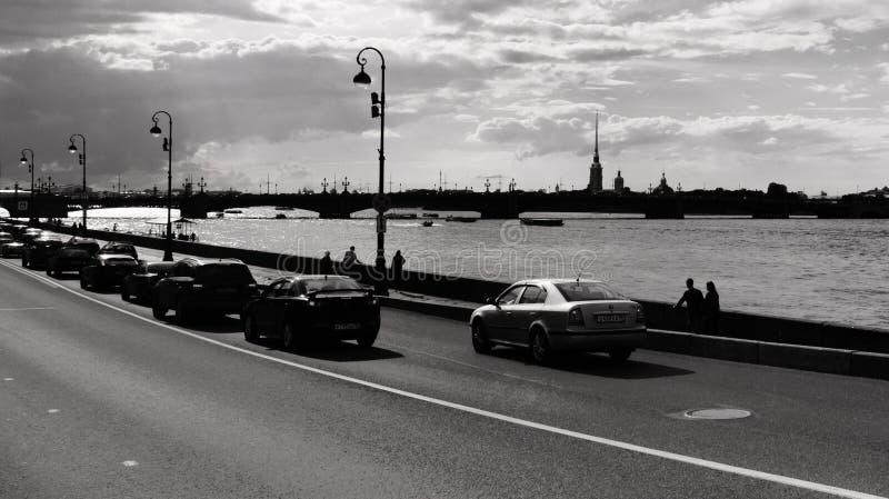 Download Invallning Av Den Neva Floden Redaktionell Arkivfoto - Bild av lopp, bygger: 78730828