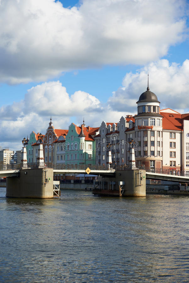 Download Invallning Av Fiskeläget. Kaliningrad Redaktionell Arkivfoto - Bild av turism, russia: 37344338