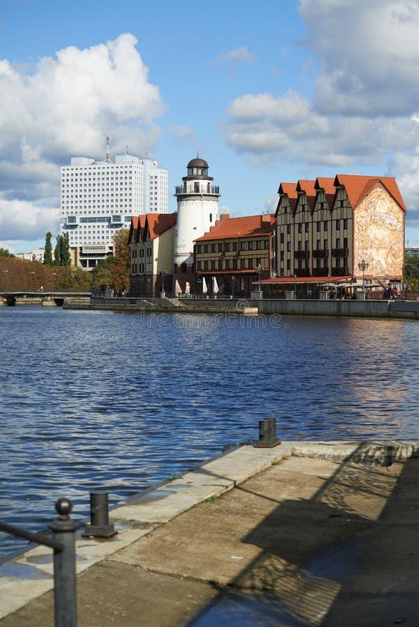 Download Invallning Av Fiskeläget. Kaliningrad Redaktionell Arkivfoto - Bild av invallning, russia: 37344343