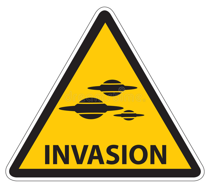 Download Invasion stock vector. Image of flying, symbol, attention - 1056179