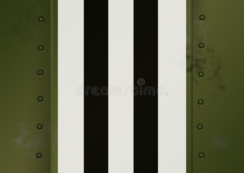 Invasionstag-Markierungen WWII lizenzfreie abbildung