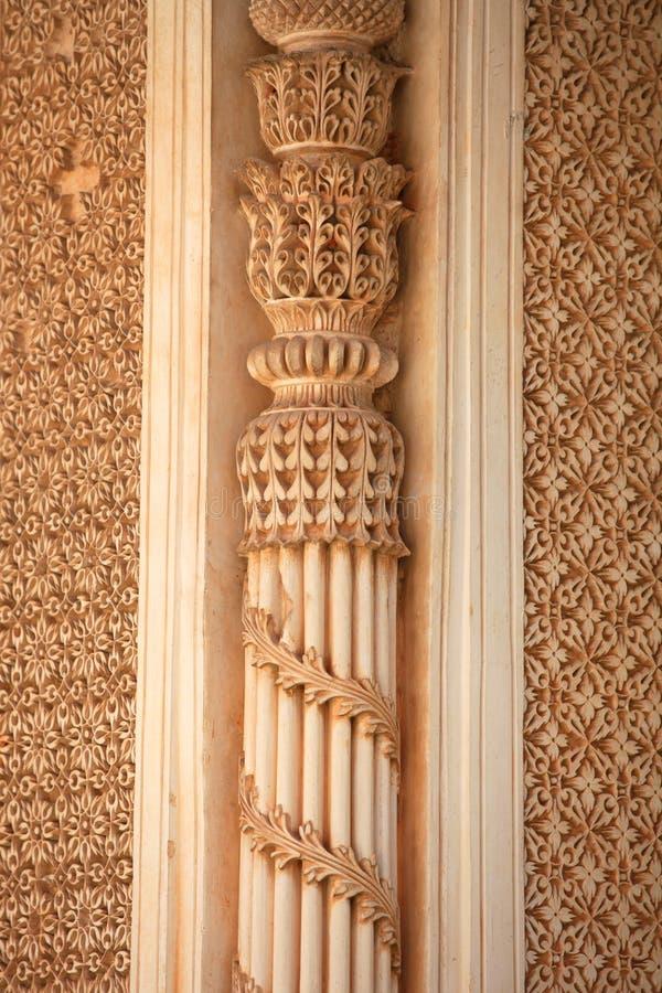 Invecklad arkitektur royaltyfri foto