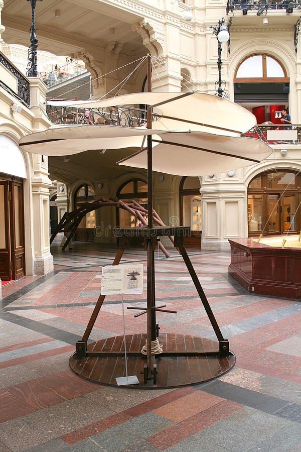 Download Invenciones 16 de Leonardo foto de archivo. Imagen de aéreo - 1290690