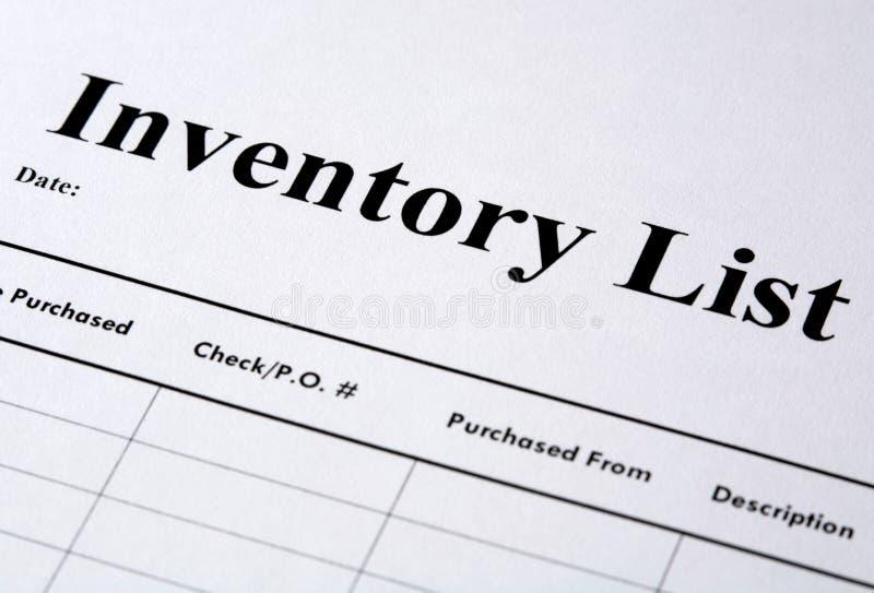 inventarium arkivbilder
