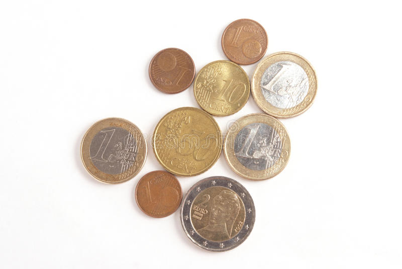 invente l'euro photo libre de droits
