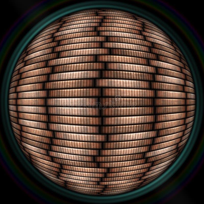 Invente a textura sem emenda da pilha no objectiv ou na lente ilustração royalty free