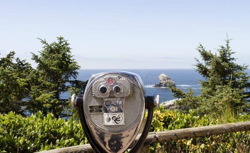 Inventor de vista na costa de Oregon fotos de stock royalty free
