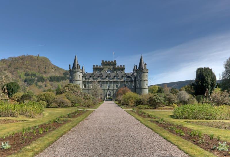 Inveraray Castle στοκ φωτογραφίες