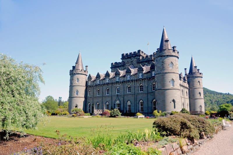 Inveraray Schloss lizenzfreies stockfoto