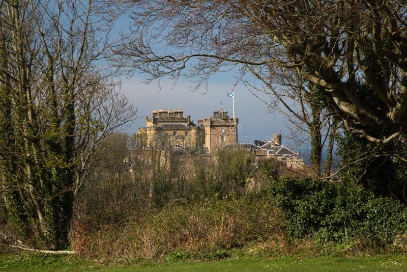 Inveraraykasteel in de Schotse Hooglanden van Argyllshire stock foto