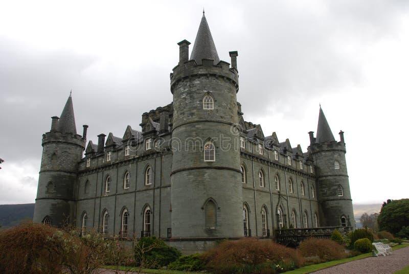 inverary slott arkivfoto