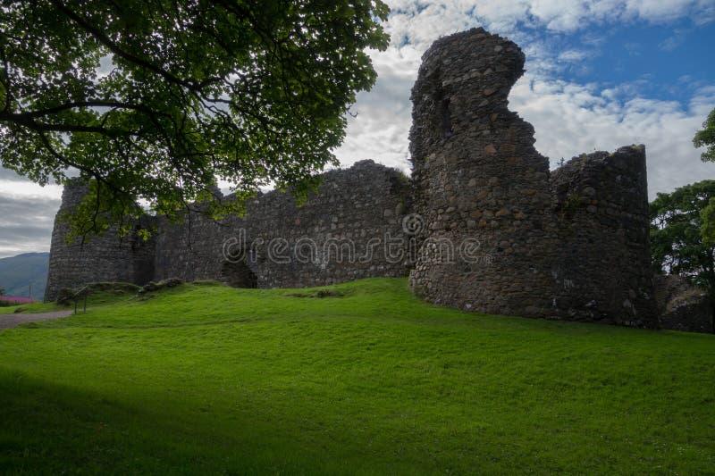 Inverlochy Castle, οχυρό William, Σκωτία στοκ φωτογραφίες