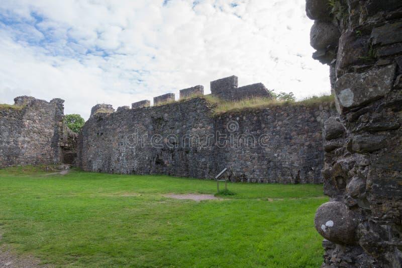 Inverlochy Castle, οχυρό William, Σκωτία στοκ φωτογραφία με δικαίωμα ελεύθερης χρήσης