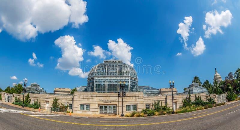 Invernadero del jardín botánico de Estados Unidos, Washington DC imagen de archivo libre de regalías