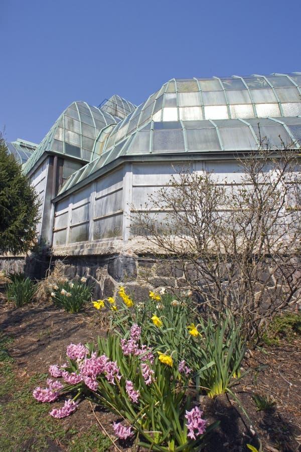 Invernadero del parque de Lincoln fotos de archivo libres de regalías