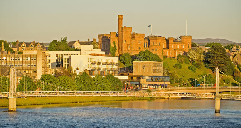 Download Inverness Castle And Greig Street Bridge. Stock Image - Image of architect, sheriff: 10634887