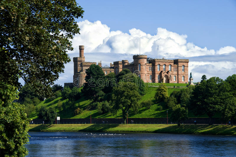 Inverness Castle Scotland royalty free stock photo