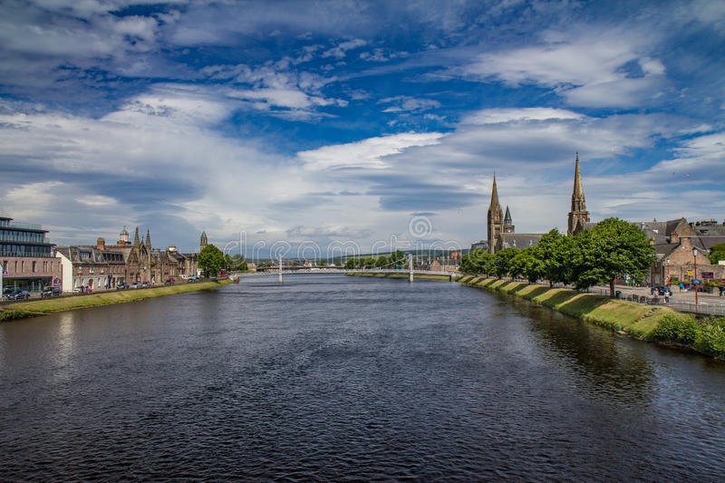 Download Inverness city view stock image. Image of united, grass - 83707509