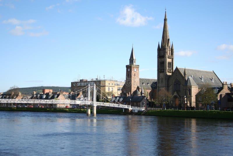 Inverness in de lente royalty-vrije stock foto