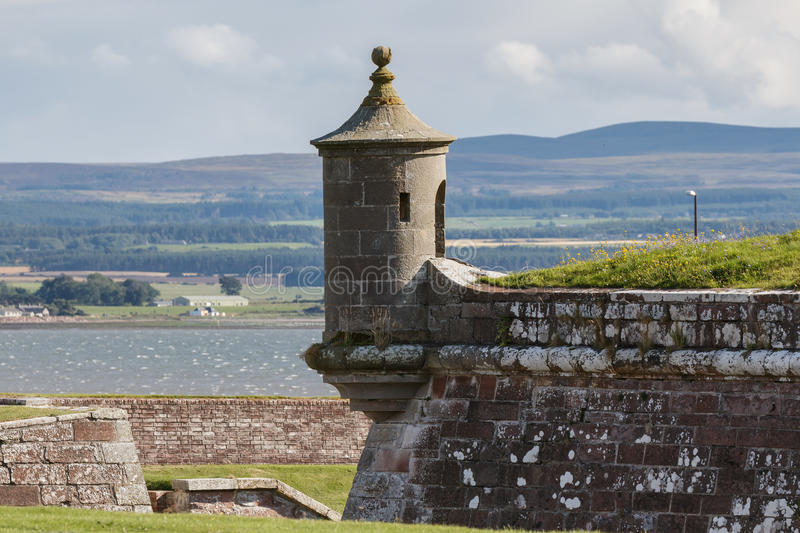 INVERNESS, HIGHLANDS/SCOTLAND - AUGUST 28 : Fort George near inveness Highlands Scotland on August 28, 2015 royalty free stock photo