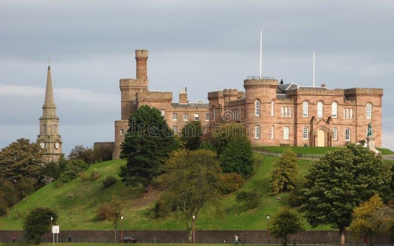 Inverness-Schloss stockbilder