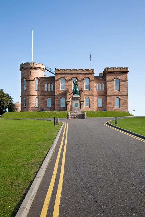 Inverness-Schloss, Schottland lizenzfreie stockbilder
