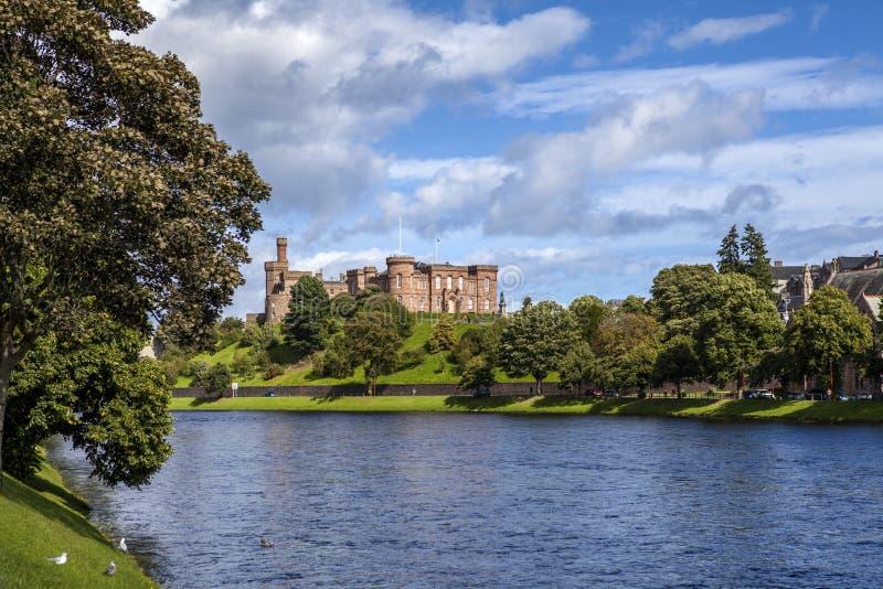 Inverness slott royaltyfria foton