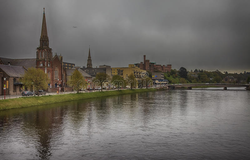 Download Inverness Before Thunderstorm Editorial Stock Photo - Image: 36787833