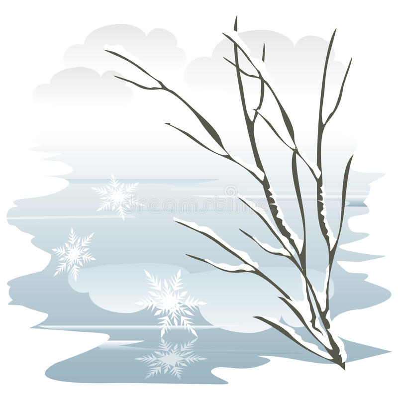 Inverno royalty illustrazione gratis