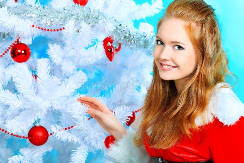 Download Inverno imagem de stock. Imagem de fantasy, beleza, senhora - 16860523
