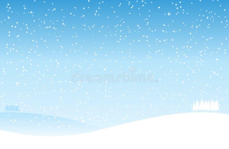 Inverno ilustração stock