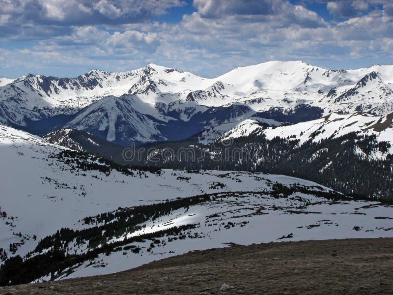 Inverno 2 da montanha alta imagem de stock royalty free