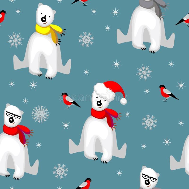 Inverno abstrato ilustração royalty free